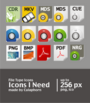 My file type icons preview