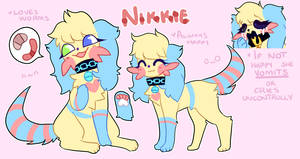 Nikkie | Reference sheet by Dinskii