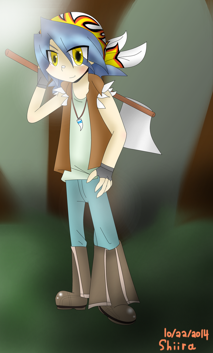 That Crazy Carpenter Boy by pokemonmae3