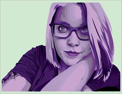 Self Portrait by riverflower92