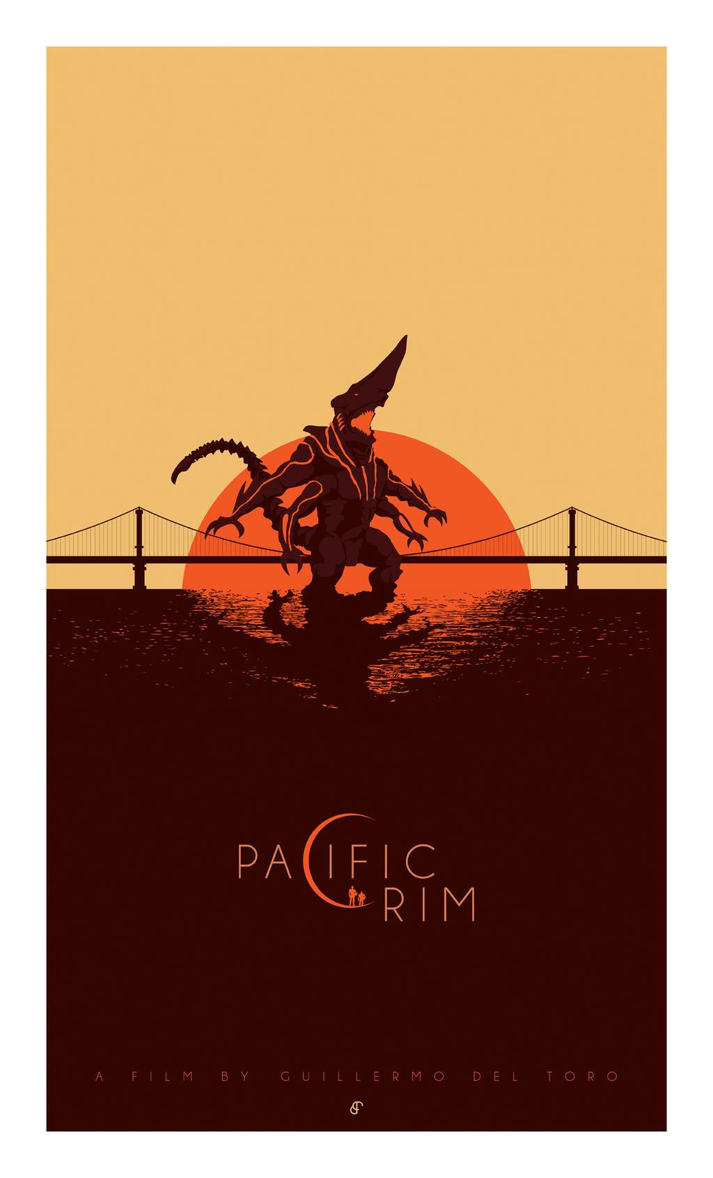 Pacific Rim Kaiju Poster Pacific Rim // Kaiju b...