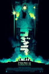 Godzilla / Regular version by BarbarianFactory