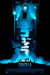 Godzilla / Blue Rage Variant by BarbarianFactory