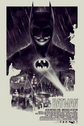 BATMAN 75th ANNIVERSARY - POSTER POSSE TRIBUTE #1 by BarbarianFactory