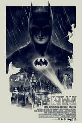 BATMAN 75th ANNIVERSARY - POSTER POSSE TRIBUTE #2 by BarbarianFactory