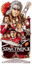 Star Trek II - The Wrath of Khan by BarbarianFactory