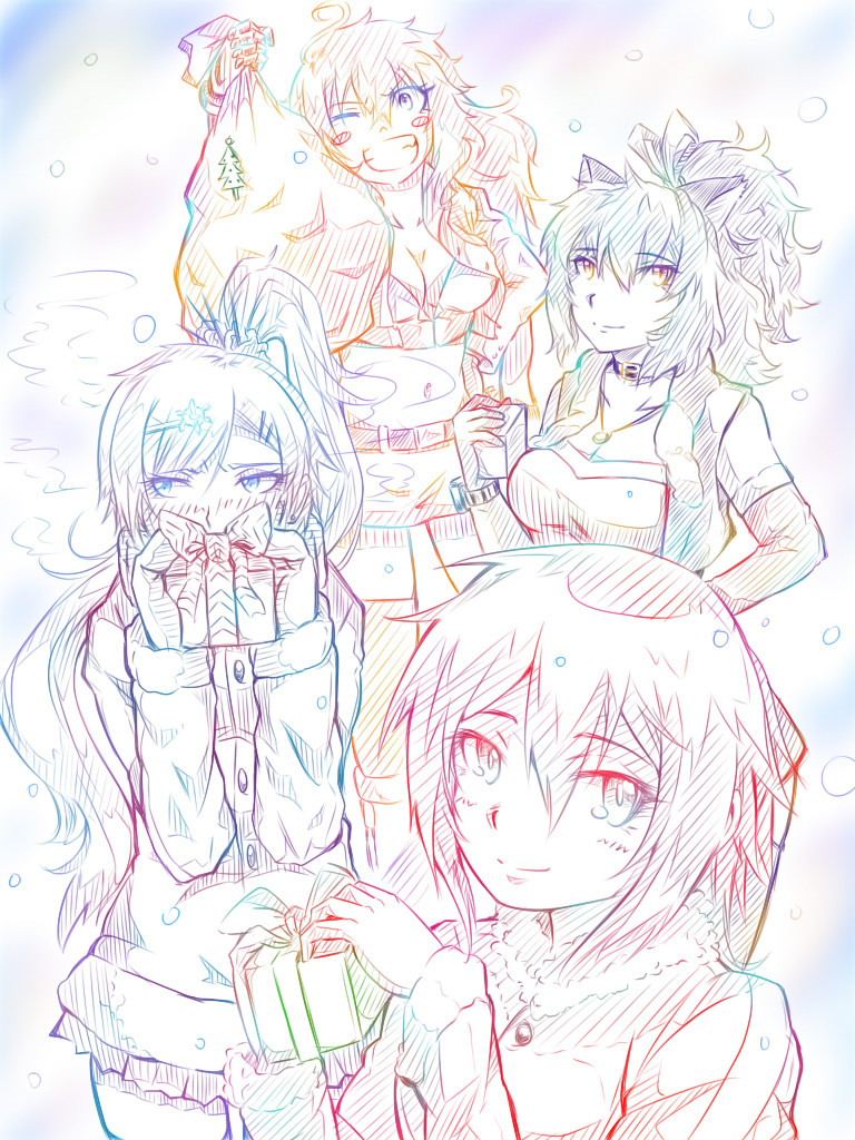 team rwby x u0027mas presents by rindoushinichi on deviantart