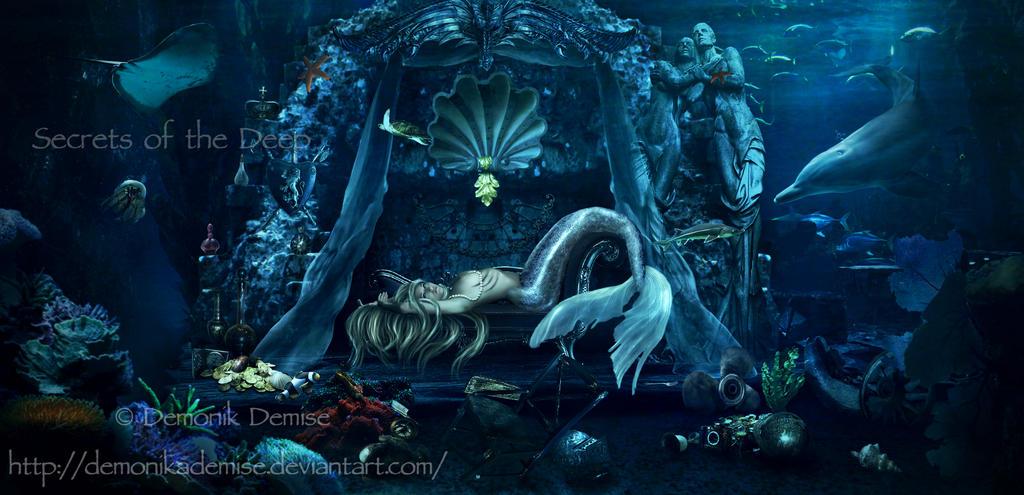 Secrets Of The Deep by DemonikaDemise