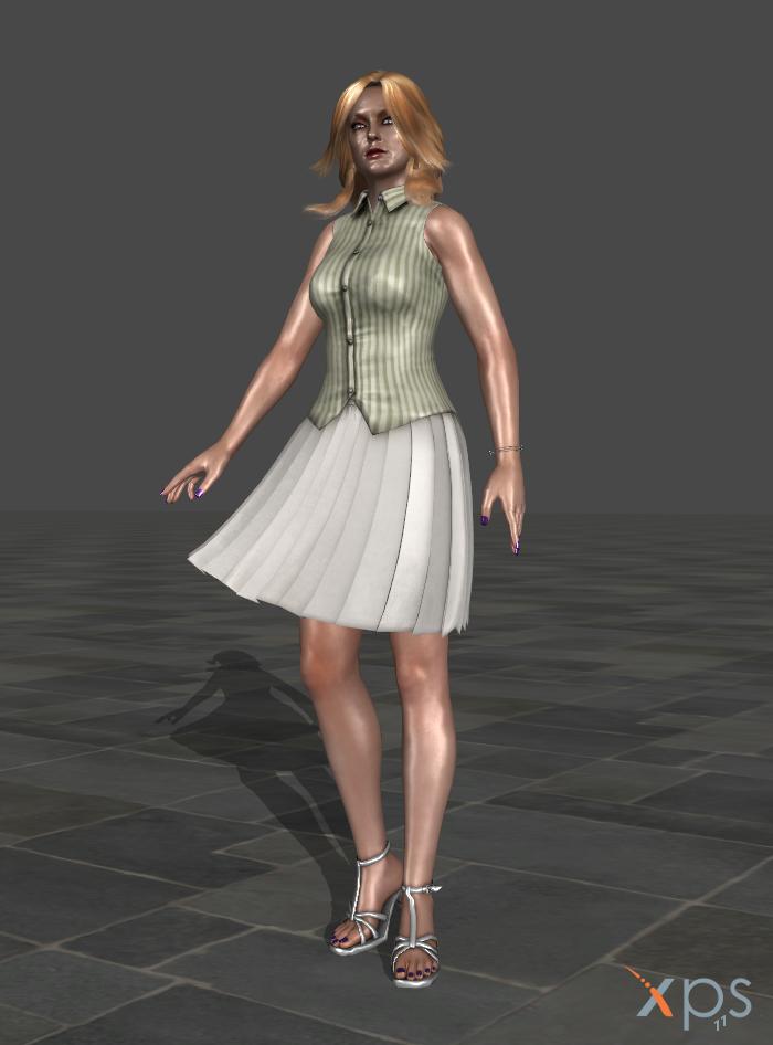 Alex Wesker Summer Dress DL! by anorexianevrosa