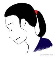 Josie's ponytail v2 by spazahedron