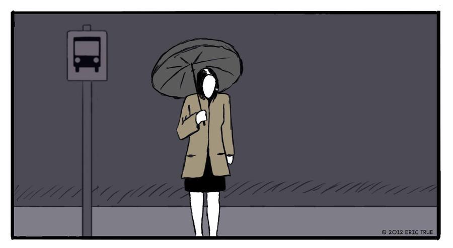 Waiting in the rain 0.2