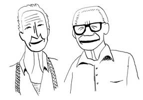 old guys by spazahedron