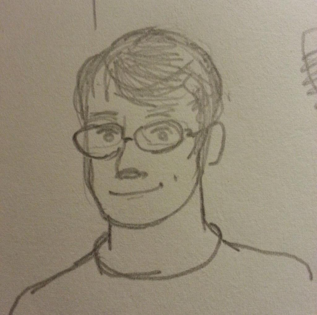 Quasi Self Portrait by spazahedron