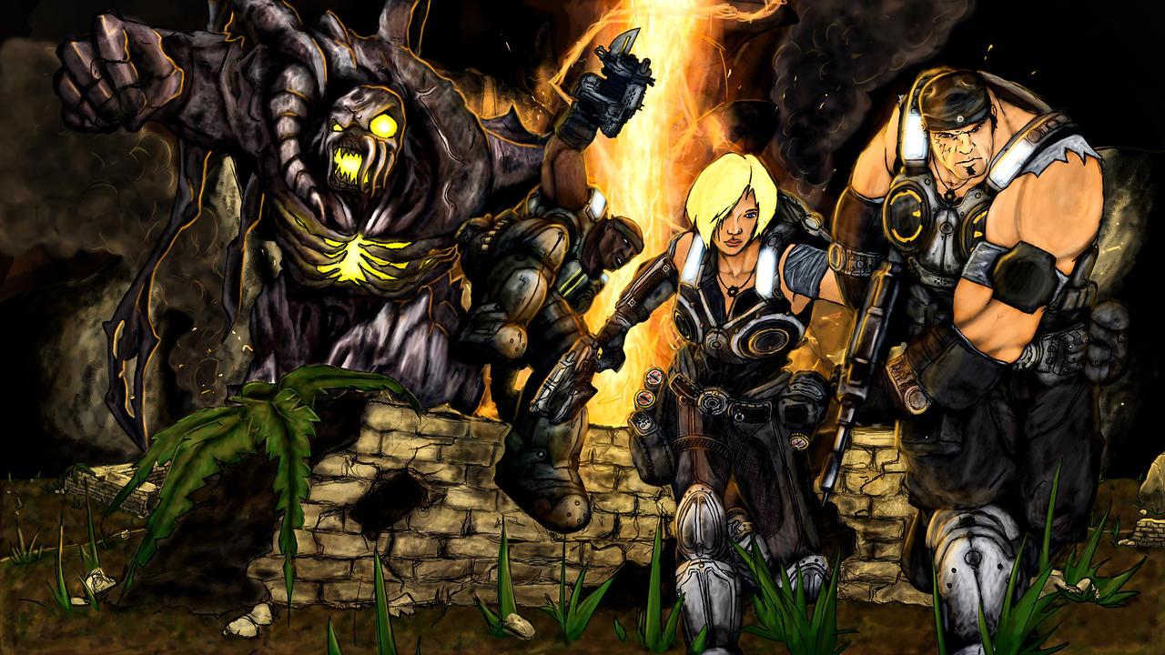Gears Of Wars 3 Wallpaper: Gears Of War 3 Wallpaper By Shisnosamurai On DeviantArt