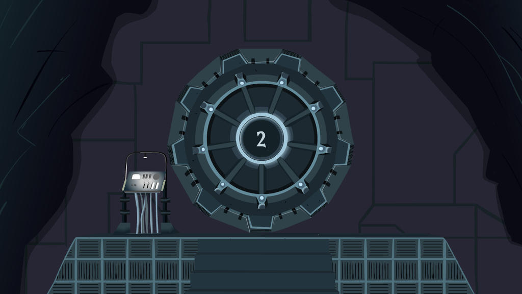 The Vault (Entrance) by Deftwise-Zero