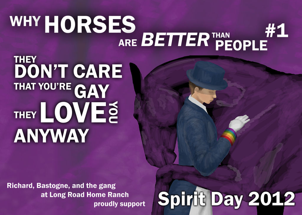 Day After Its Long Road To Better >> Why Horses Are Better Than People By Shannor On Deviantart