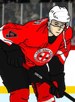 Imaginary Hockey Player by shannor