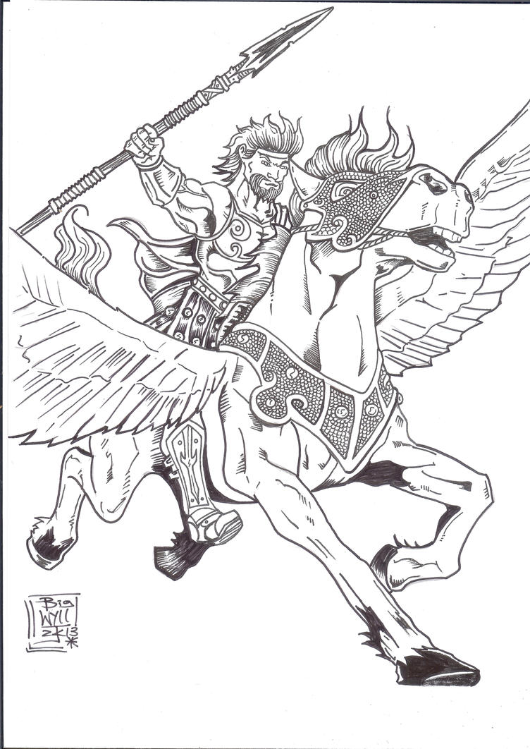 pegasus and bellerophon picture pegasus and bellerophon image