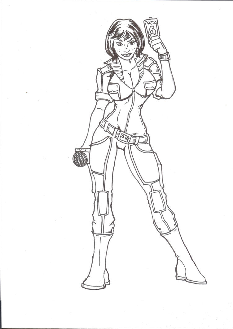Tmnt Coloring Pages April : April o neil by wyzewun on deviantart