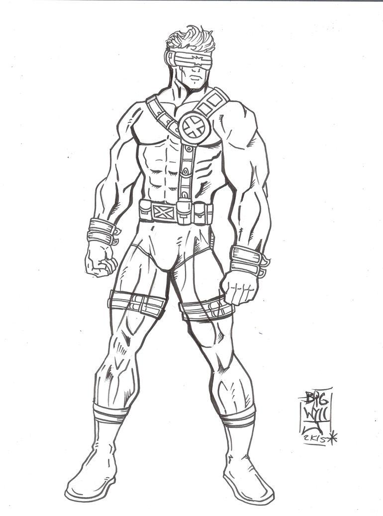 X Men Cyclops Drawings Cyclops 1990's by Wyze...
