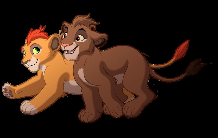 Kivu and Ciara by kohu-arts