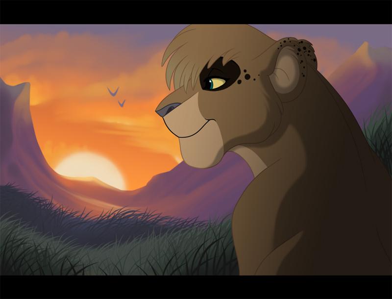 Watching the Sun by kohu-arts