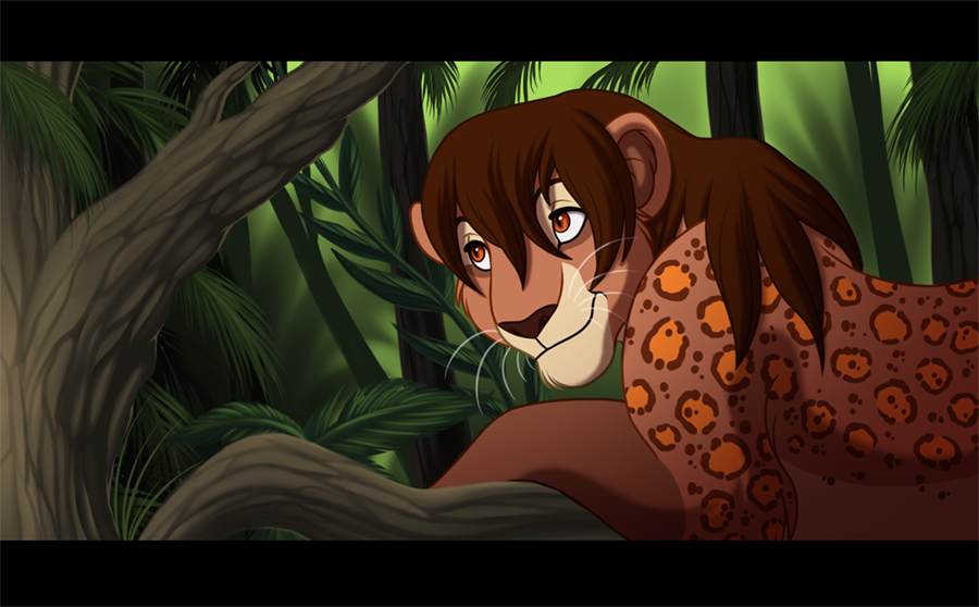 Jungle Cat by kohu-arts