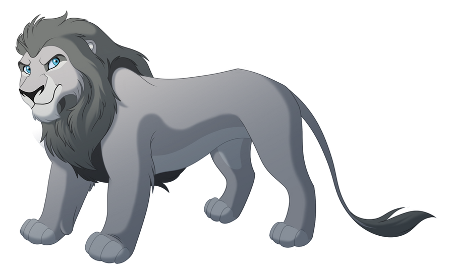 Male Lion Lines by kohu-arts