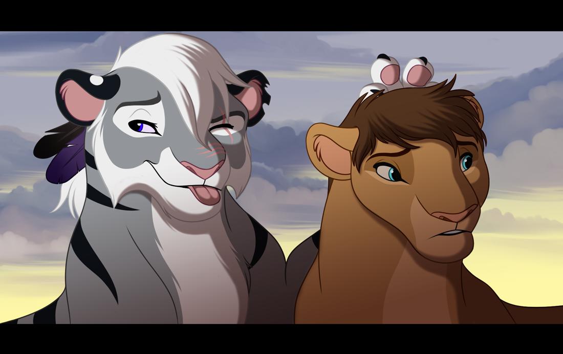 P.O The Lion King Bunny_ears___commission_by_kohu_arts-d5vckar