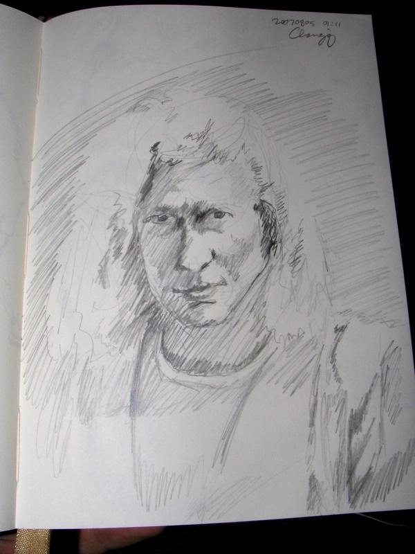 Self-Portrait 2007-08-05 01 by monking