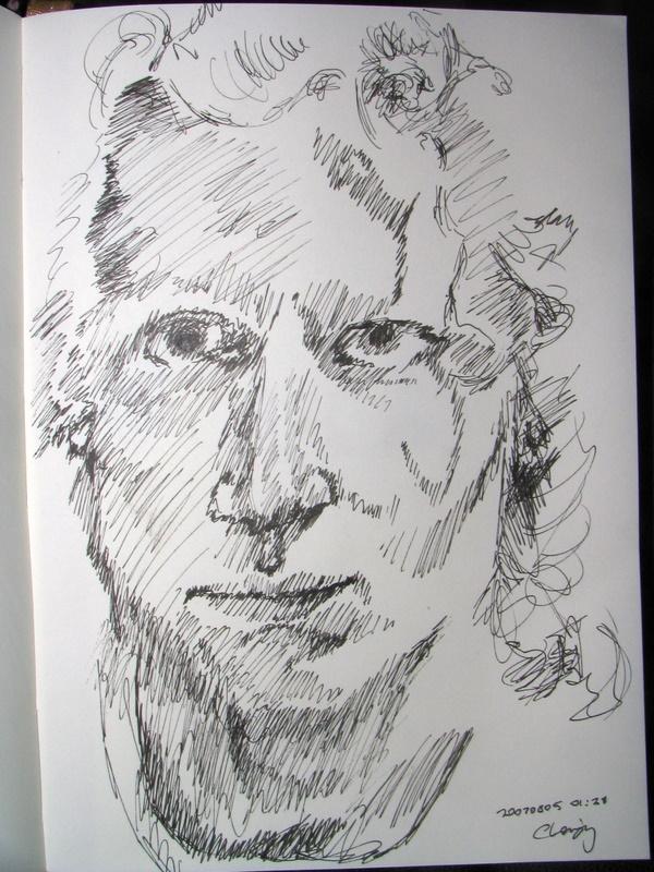 Self-Portrait 2007-08-05 02 by monking