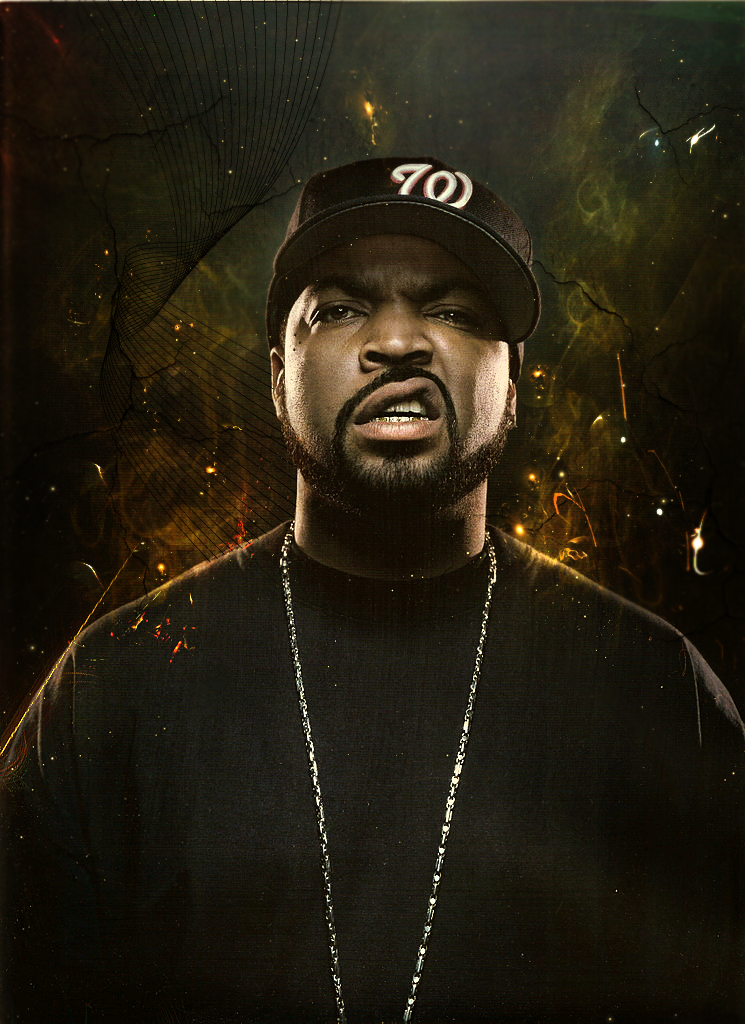 Ice Cube by Llulian