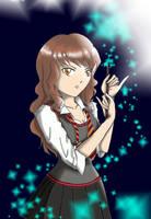 Star Struck Hermione by VavaBeeb