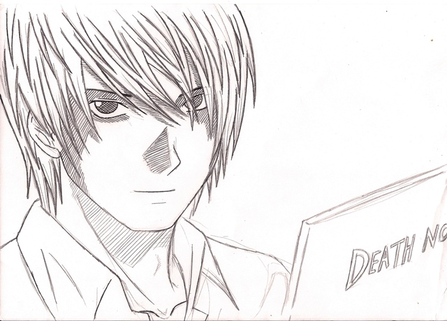 KIRA Death Note By Ali-hegazi On DeviantArt