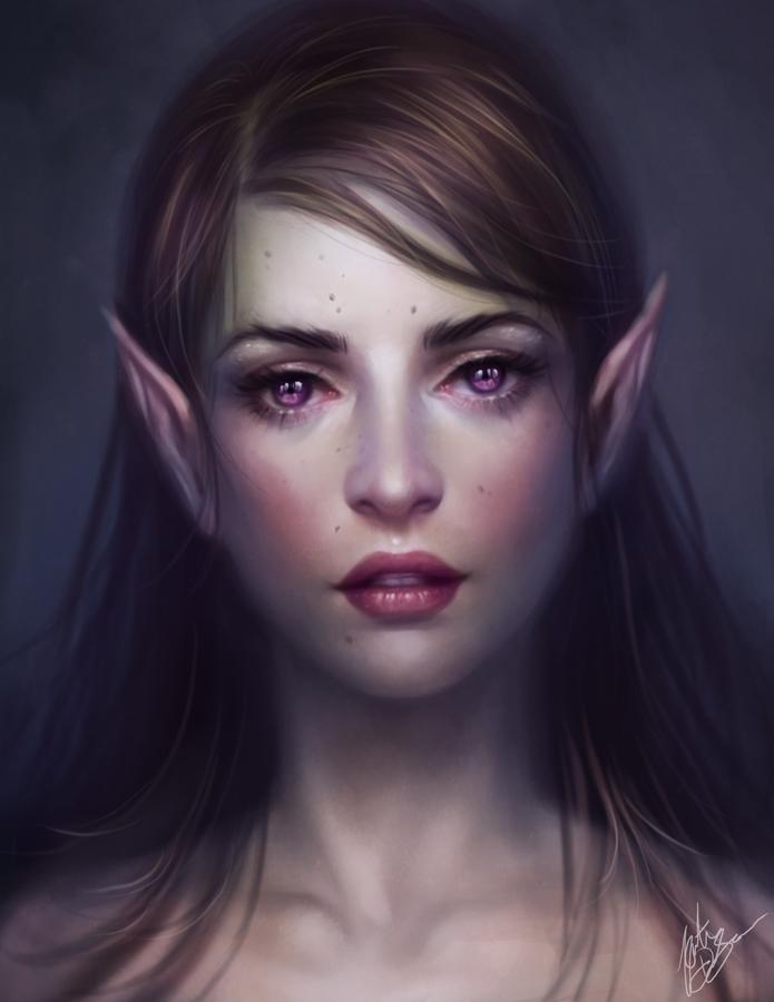 Violet Eyes by yumedust