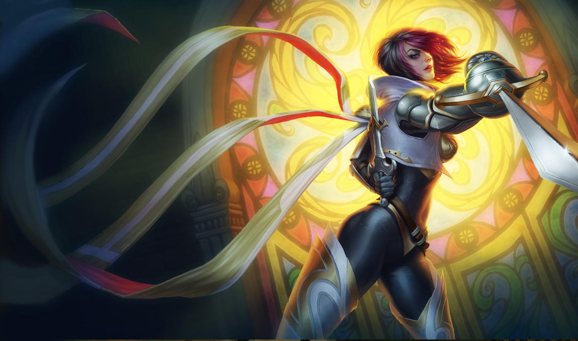 Fiora the Grand Duelist by katiedesousa