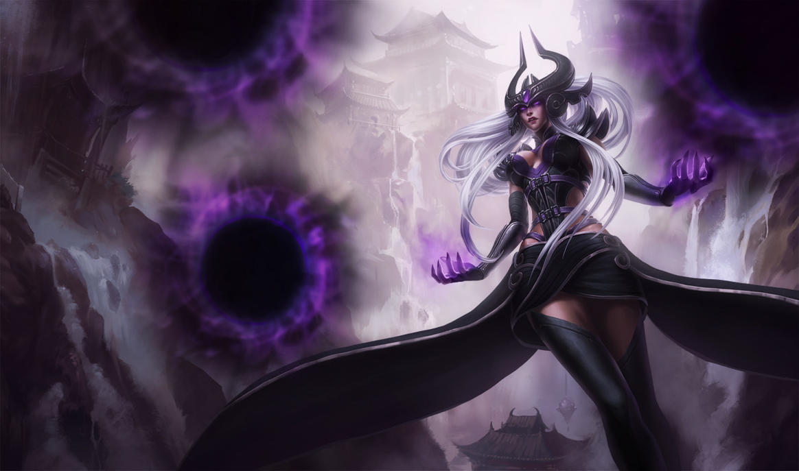 Syndra the Dark Sovereign by yumedust