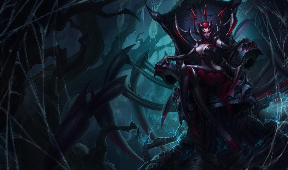 Elise the Spider Queen by katiedesousa
