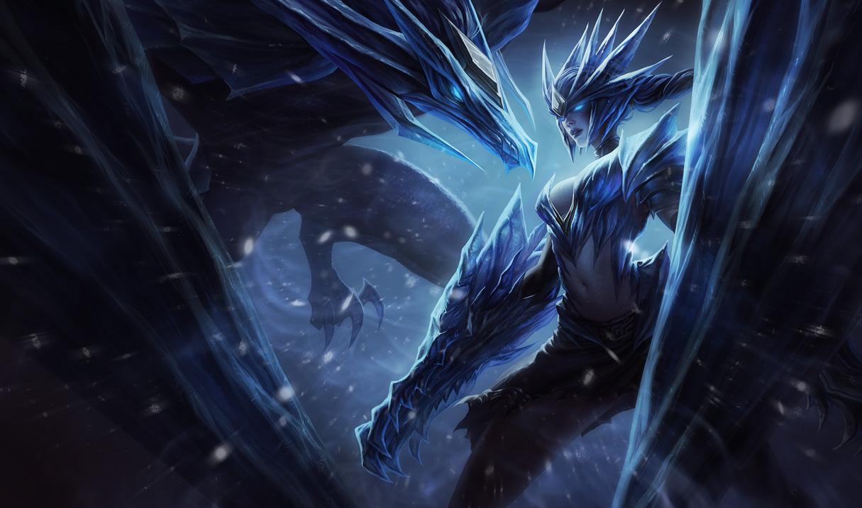 Ice Drake Shyvana by yumedust