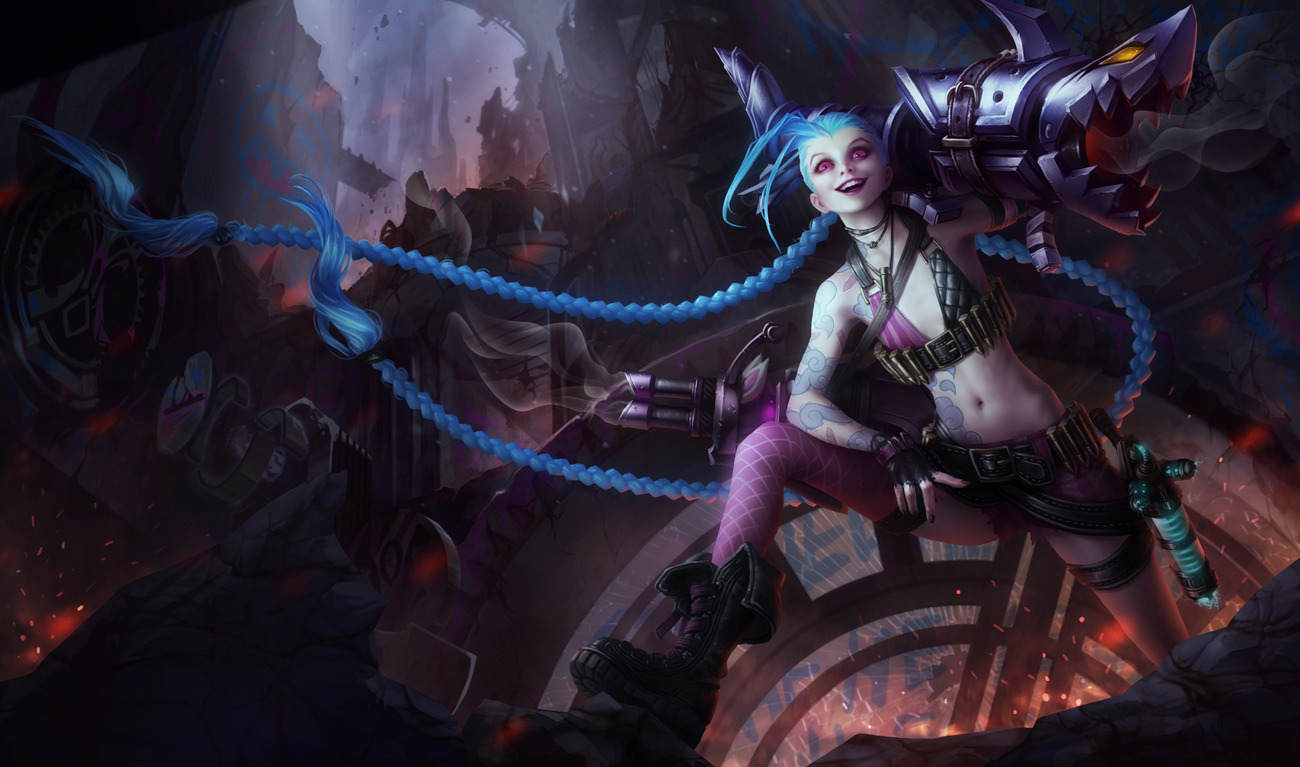Jinx the Loose Cannon by yumedust