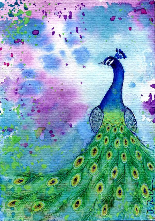 peacock by Bellchen87