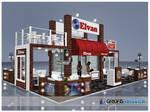 Elvan Gida Exhibition Stand Design - 3D