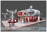 Ulker Eksper Exhibition Stand 3D