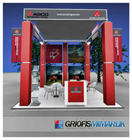 AGCO Exhibition Stand 3D by GriofisMimarlik