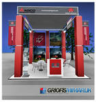 AGCO Exhibition Stand 3D