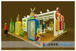 ANL GIDA Exhibition Stand 3D