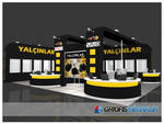 Yalcinlar Exhibition Stand 3D