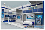 Is Bankasi Exhibition Stand 3D