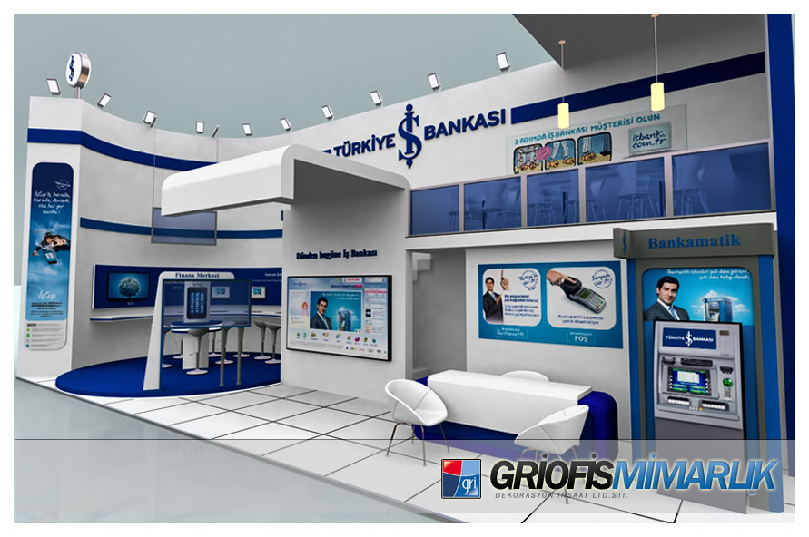 Exhibition Stand Etiquette : Deviantart more like is bankasi exhibition stand d by