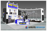 METRO Exhibition Stand 3D